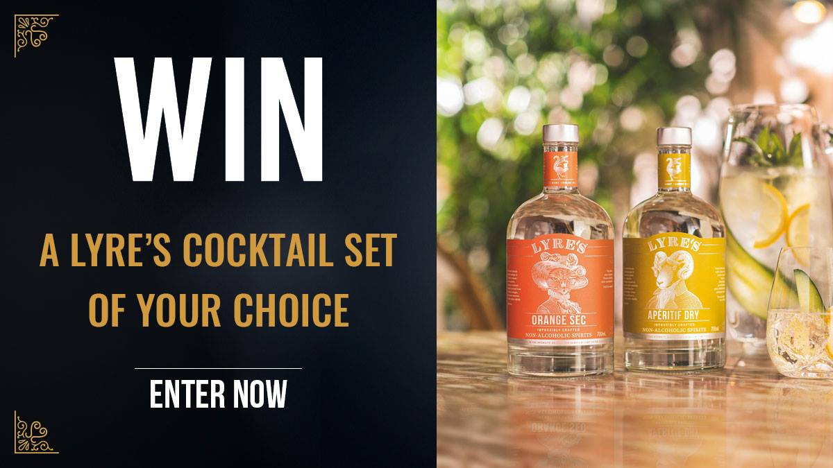 WIN a Lyre's Cocktail Set
